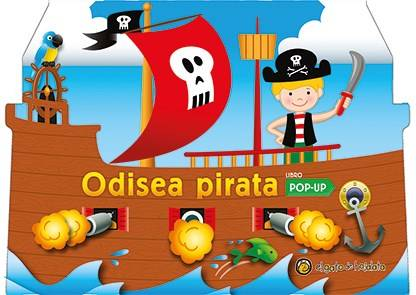 ODISEA PIRATA LIBRO POP UP