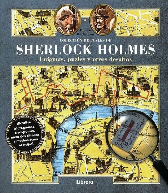 COLECCION DE PUZLES DE SHERLOCK HOLMES