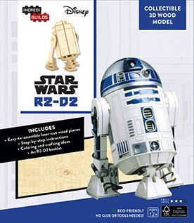STAR WARS R2-D2 LIBRO Y MODELO PARA ARMAR