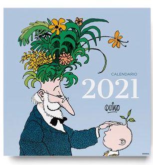 CALENDARIO DE PARED QUINO 2021