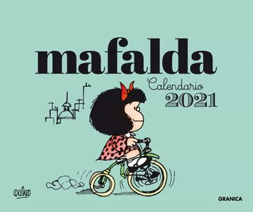 CALENDARIO 2021 MAFALDA ESCRITORIO VERDE