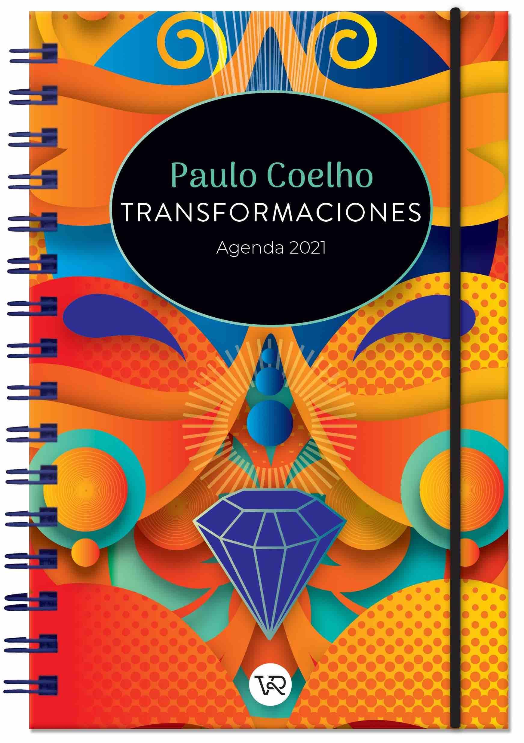 AGENDA 2021 PAULO COELHO TRANSFORMACIONES DIAMANTE ANILLADA