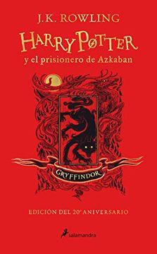 HARRY POTTER 3 Y EL PRISIONERO DE AZKABAN GRYFFINDOR 20 AÑOS TD