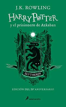 HARRY POTTER 3 Y EL PRISIONERO DE AZKABAN SLYTHERIN 20 AÑOS TD