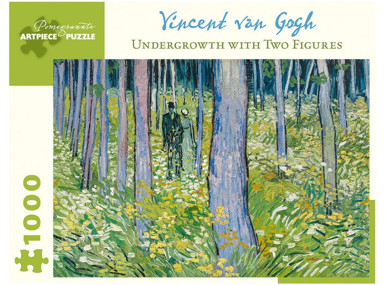 PUZZLE VINCENT VAN GOGH UNDERGROWTH WITH TWO FIGURES