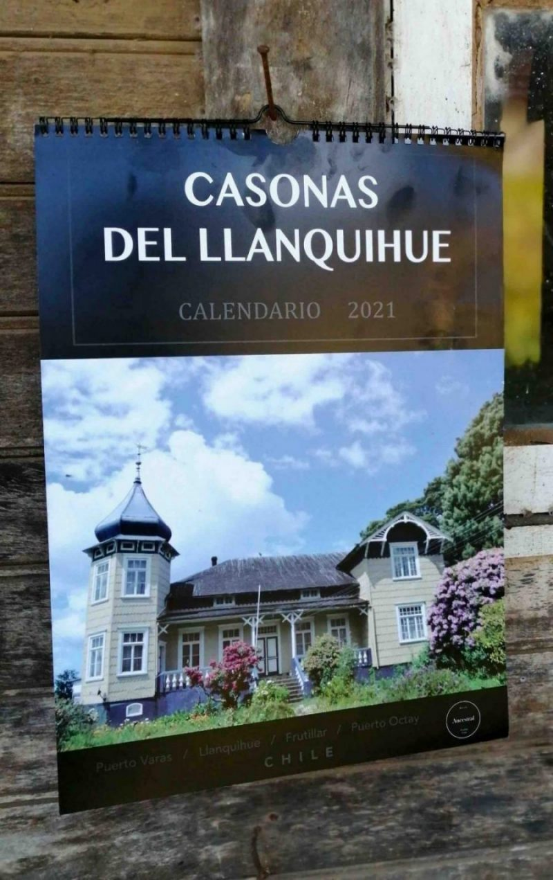 CASONAS DEL LLANQUIHUE CALENDARIO 2021