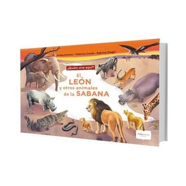 EL LEON Y OTROS ANIMALES DE LA SABANA