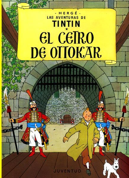 TINTIN EL CETRO DE OTTOKAR
