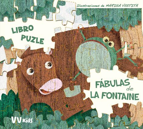 LAS FABULAS DE FONTAINE PUZLE