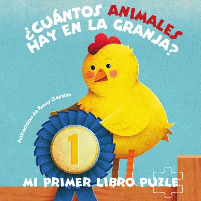 CUANTOS ANIMALES HAY EN LA GRANJA LIBRO PUZLE