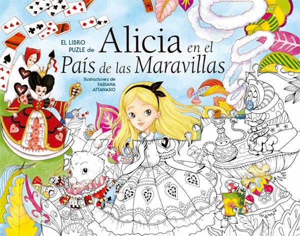 EL LIBRO PUZLE DE ALICIA EN EL PAIS DE LAS MARAVILLAS
