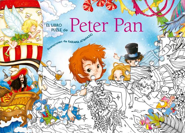 EL LIBRO PUZLE DE PETER PAN