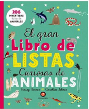 EL GRAN LIBRO DE LISTAS CURIOSAS DE ANIMALES