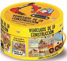 VEHICULOS DE LA CONSTRUCCION LIBRO + PUZZLE GIGANTE