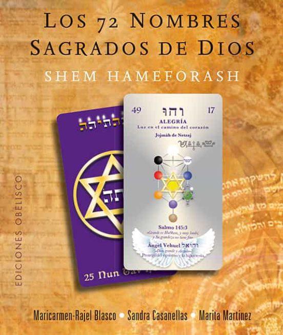 LOS 72 NOMBRES SAGRADOS DE DIOS (LIBRO + CARTAS)