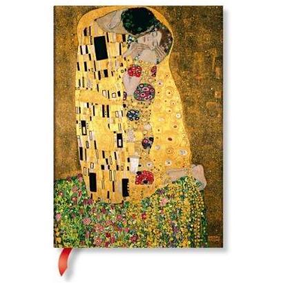 LIBRETA KLIMTS 100TH ANNIVERSARY THE KISS MIDI TD CON LINEAS